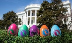 Nintendo Spends Easter at the White House