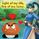 Lyn's assisting in Brawl
