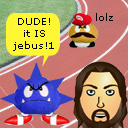 Miis going to the olympics