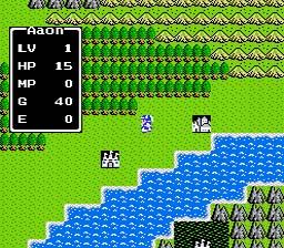 Dragon Warrior for the NES