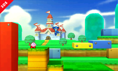 Super Mario 3D Land stage in SSB