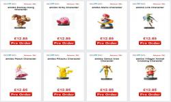 Nintendo amiibos price listed