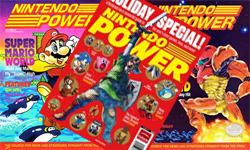 Nintendo Power tribute painting