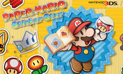 Paper Mario sticker book for 10,000 people