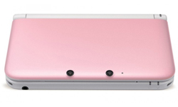 Pink 3DS XL back for Valentine's