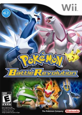 Pokemon Battle Revolution box art