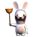 Rabbids Plunger Gun accessory