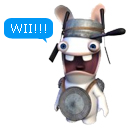 Rayman Rabbids 2 only on Wii