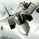 Project Aces flight game on Wii