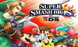 Smash Bros 3DS Demo Now Available in the West