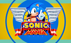 Sonic Mania gameplay footage