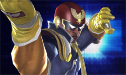 Captain Falcon, Peach, Toad and Sheik costumes in Tekken TT2