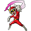 Viewtiful Joe fighting for Capcom