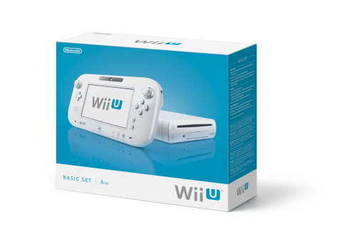 Wii U basic packaging