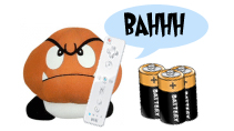 Goomba and batteries