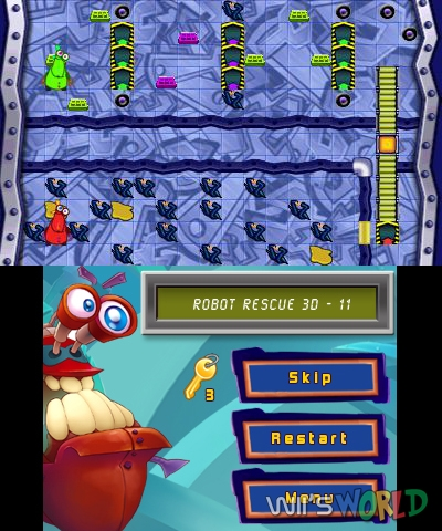 Robot Rescue 3D screenshot
