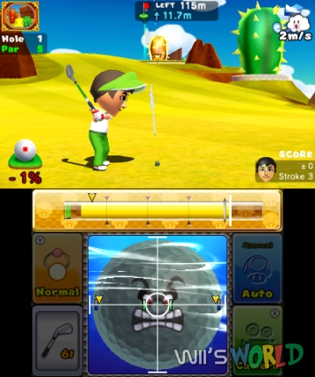 Mario Golf World Tour screenshot