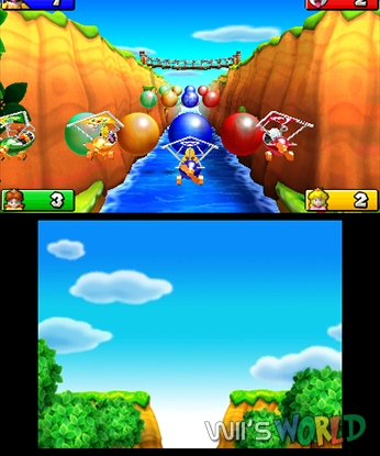 Mario Party Island Tour Vs Mario Party Ds