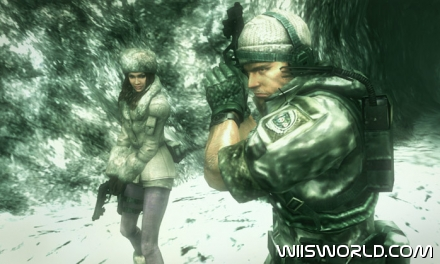 Resident Evil Revelations screenshot