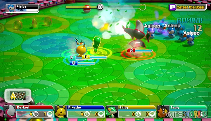 Pokemon Rumble U screenshot