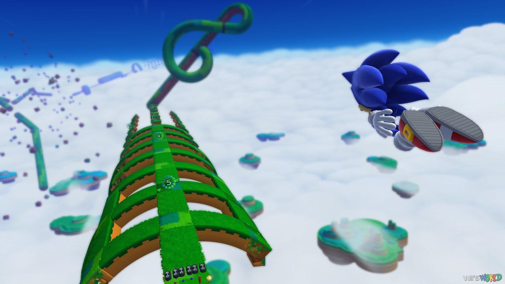 Sonic Lost World On Wii U