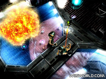 Alien syndrome on wii for Alien syndrome