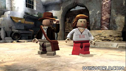 Lego Indiana Jones  The Video Game On Wii