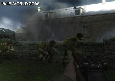 Medal of Honor Vanguard screenshot