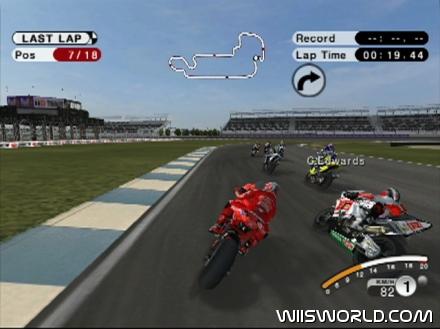 MotoGP 08 on Wii