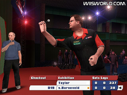 PDC World Championship Darts 2008 screenshot