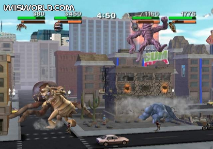 Rampage Total Destruction On Wii