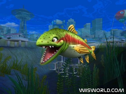 Rapala we fish on wii for Wii u fishing game