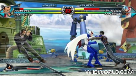 Tatsunoko vs Capcom: Ultimate All-Stars screenshot