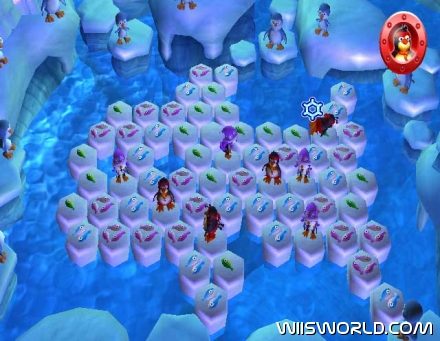 Penguins & Friends: Hey! That's My Fish! on WiiWare